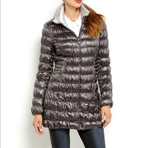 Laundry by Shelli Segal Reversible Packable Puffer